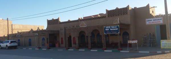 Circuit enrichissant au départ de l'auberge de Moha à Merzouga