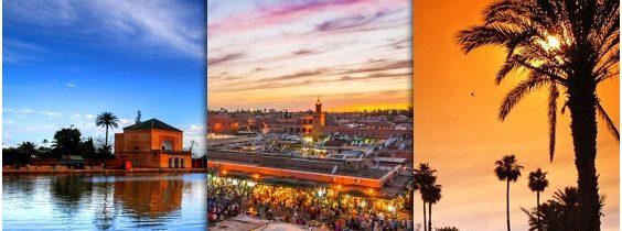 Marrakech : Un œil sur la modernité.
