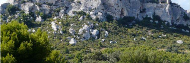 La visite du Château des Baux de Provence
